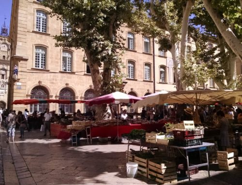 Where can I practise speaking French in Aix-en-Provence?