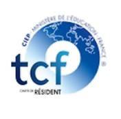 logo test de connaissance du français french language test TCF