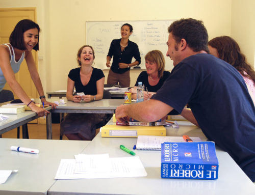 Pedagogical approach to learning French at IS Aix-en-Provence