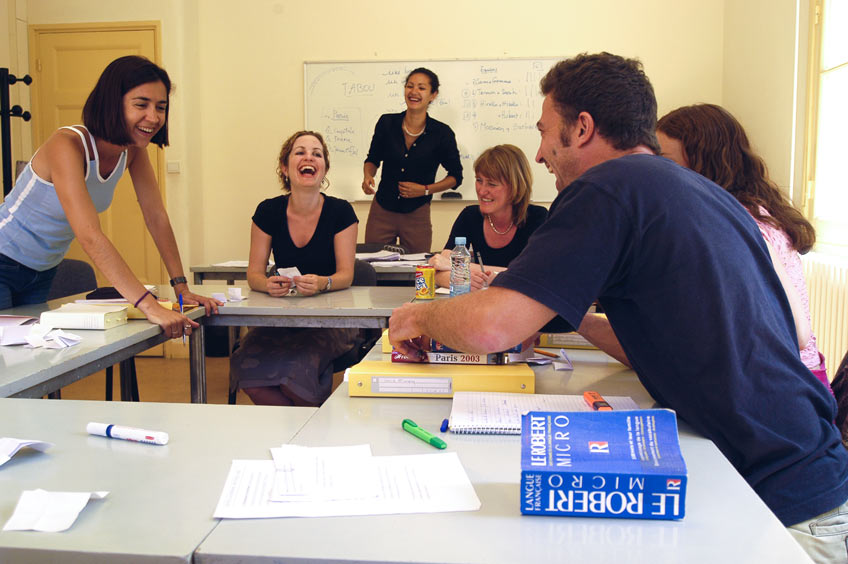 The classroom is a laboratory of experimentation at IS Aix-en-Provence.