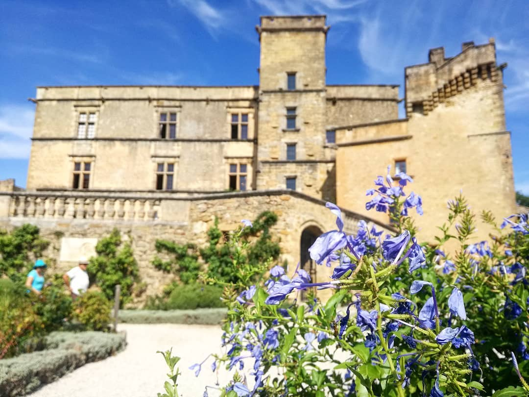 Castle of Lourmarin in the Luberon
